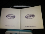 buku garansi, buku petunjuk penggunaan