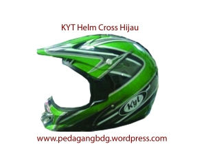 Helm Cross kyt hijau